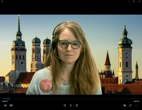 Live-guided virtual City Tours in Munich
