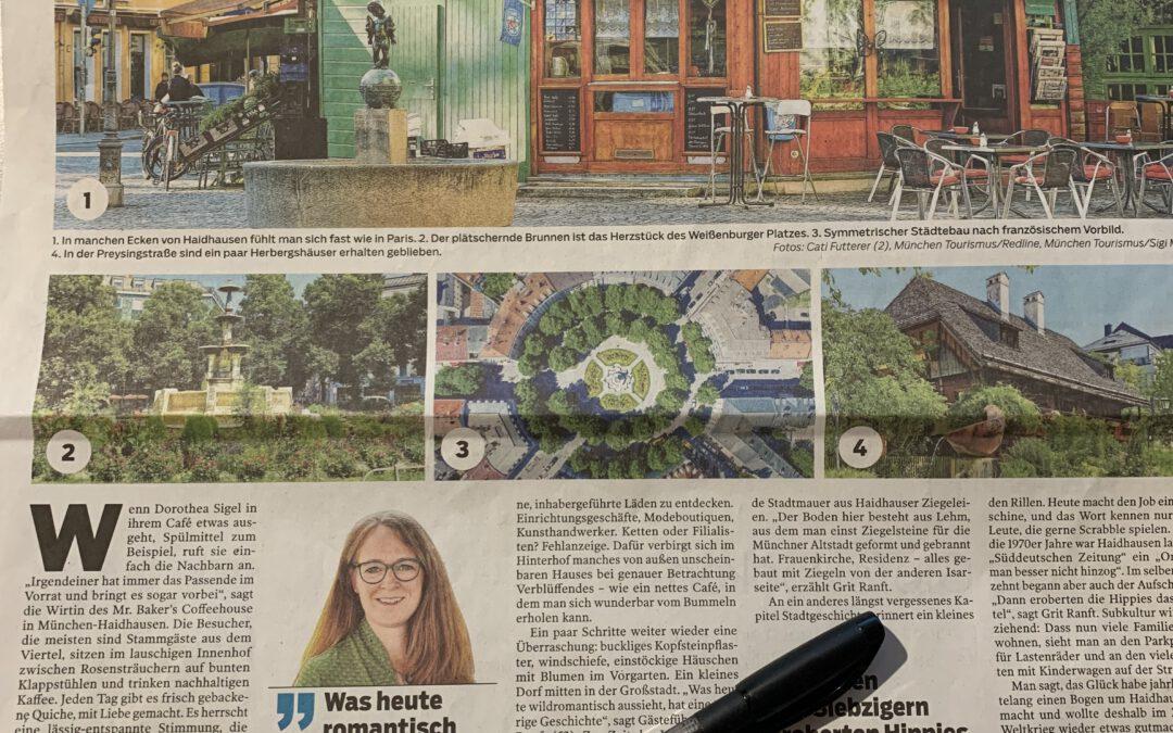 Haidhausen in der Stuttgarter Zeitung